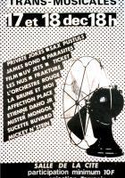 Affiche Trans Musicales 1980 - © Dany Delboy / Hervé Bordier