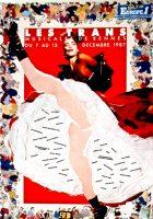 Affiche Trans Musicales 1987 © Agathe Desombre et Stéphane Plassier