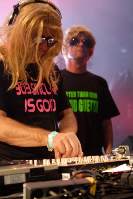 Bobby Hardcore Liberace & Lee Hand Perrins