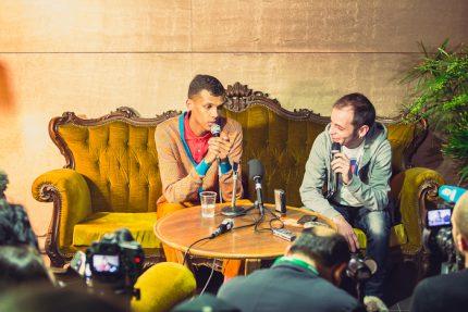 Conférence de presse Stromae