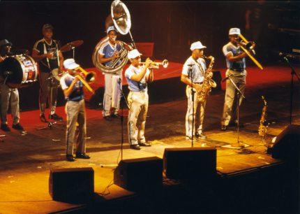 The Rebirth Brass Band