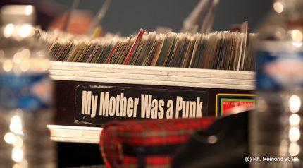 Caisse de vinyles de Big Buddha
