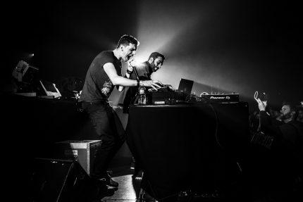 Saro & DJ Netik © Magali r